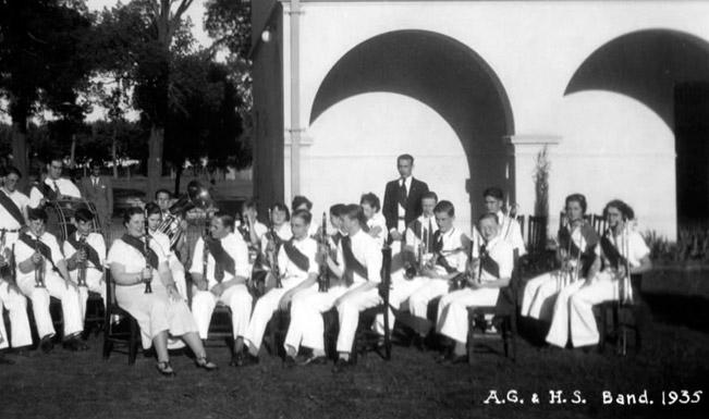 Banda Ward en 1935