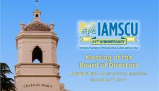 IAMSCU meeting, Colegio Ward 2017